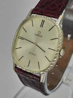 Vintage Omega Deville 625 Cal Hand winding ref.111.0148 watch White Gold Plated