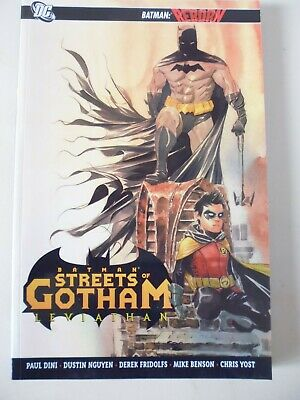 Batman : Streets Of Gotham - Leviathan. Softcover Graphic Novel.