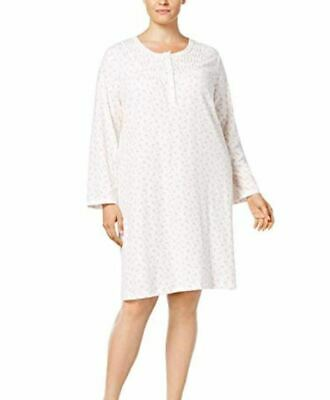 5fddd5efc MISS ELAINE WOMEN S Plus Size Printed Knit Nightgown -  24.37