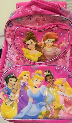 b3c5fa0a5dec DISNEY PRINCESSES PRINCESS Rolling Backpack for Kids School -  23.70 ...