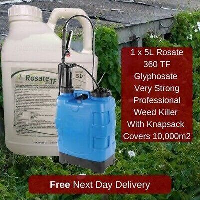 20L Knapsack Sprayer With Extra Strong Rosate 36 5L Glyphosate Weed Moss Killer