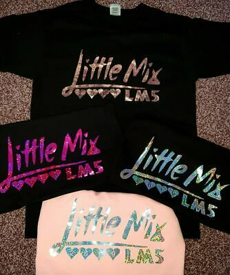 Little Mix LM5 Tour 2019 T-shirts Adult-Kids --- FREE PERSONALISATION INCLUDED!!