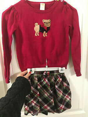 NWT Gymboree girls sweater//corduroy school holiday dress jumper tunic 5 6 7 8