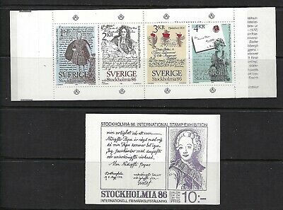 Sweden Scott 1505a Complete Booklet