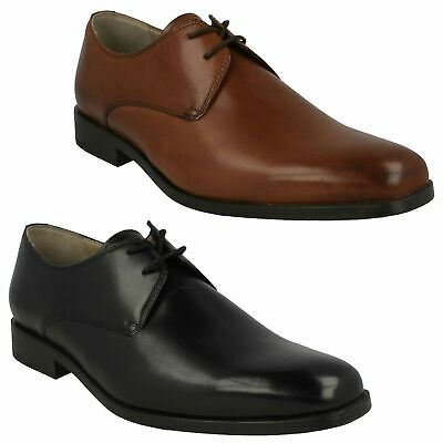 Amieson Walk Clarks Mens Lace Up Work Wedding Formal Derby Leather Shoes