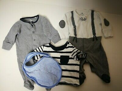Next Up To 1 Months Boy Bundle Lot Of 4 Item