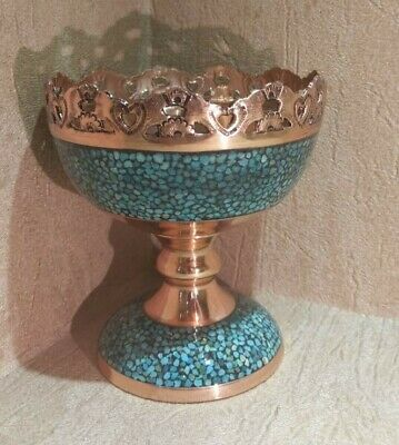 Persian Turquoise Inlaying (Firoozehkoobi) Candy Jar_Neu