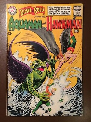 DC comics :  BRAVE AND THE BOLD # 51 ,1964,  VG condition, Aquaman & Hawkman