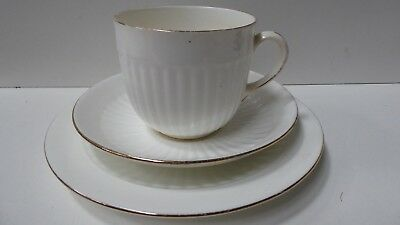 Chelson England Trio Fine Bone China Porcelain Tea Cup Saucer Plate Set