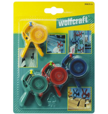 Wolfcraft 3663000 Mini Spring Clamps microfix S 4