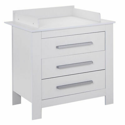 White Changing Table Dresser Infant Baby Nursery Diaper