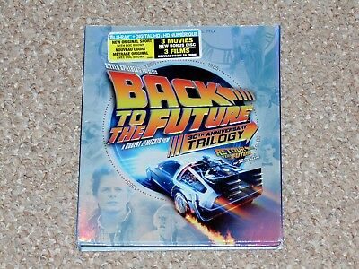 Back to the Future Trilogy 30th Anniversary Blu-ray 2015 4-Disc Set Canadian