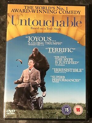 Untouchable Dvd  2011 (Based On True Story) Brand New & Sealed Mint Free Post