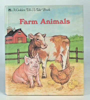 TELL A TALE Book Farm Animals Names Animal Breeds Holstein Jersey Hereford  Angus