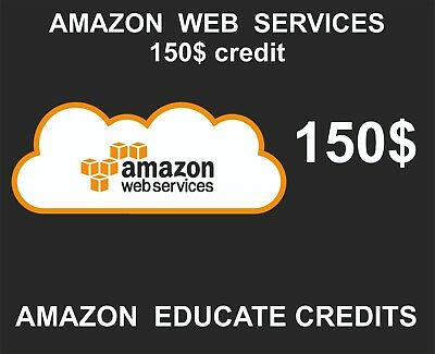 EDU_ENG_FAmazon AWS Credits, 150 USD, Educational Credits, Stackable, 2020-06-30