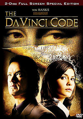 The Da Vinci Code [Full Screen Two-Disc Special Edition] DVD Used - Good [ DVD ]