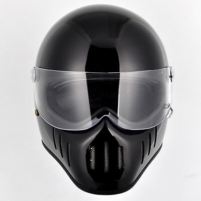 Dirt Bike Helmet With Visor >> Full Face Motorcycle Helmet Pig Mouth With Visor Bike Dirt Bicycle