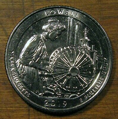 2019 America The Beautiful Washington Quarter Lowell National Historical Park