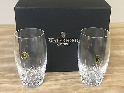 Waterford Lismore Essence 2 Highball HiBall Crystal Glasses #151885 New