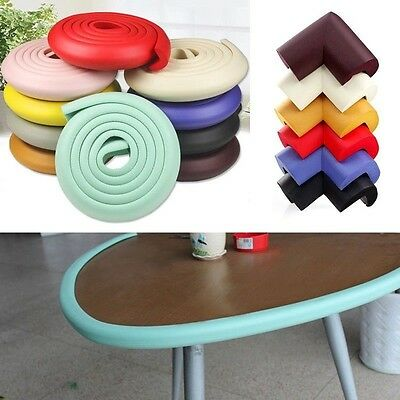 Baby Edge Corner Cushion Safety Table Desk Guard Strip Softener Bumper Protector