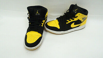 Og New 035 5 Mid Retro 554724 9 Nike Maize Sz Love Yellow Air 1 Jordan White zVSMUpq