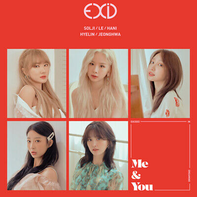 EXID [ME&YOU] 5th Mini Album CD+UNFOLDED POSTER+Photo Book+Stand+Card SEALED
