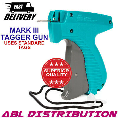 Avery Dennison Mark 3 III Clothing Garment Tagging Gun Uses Standard Tags