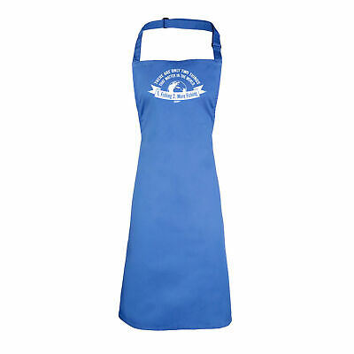 Fishing Funny Kids Childrens Kitchen Art Craft Apron - There Are Only Two Things