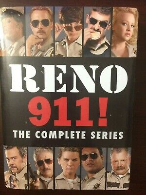 Reno 911: The Complete Series  [New DVD] Boxed Set Full Frame, Dolby, Widescreen