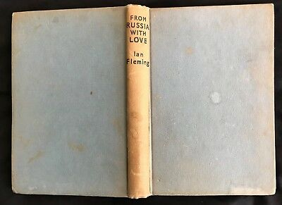 From Russia With Love By Ian Fleming, James Bond Book