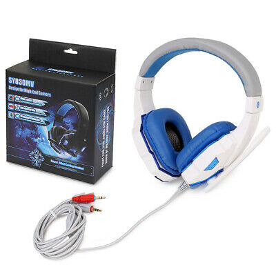Soyto 3.5mm Gaming Headset MIC LED Headphones for PC Mac Laptop Xbox One 360 PS4