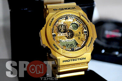 Casio G-Shock Gold Analog Digital Resin 200M Men's Watch GA-300GD-9A