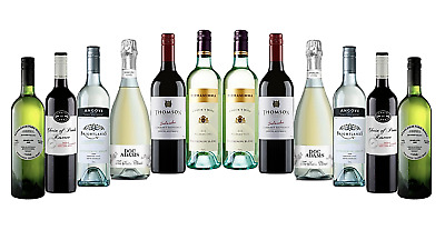AU Best Seller Mixed Red & White Wine RRP$276 12x750ml FREE SHIPPING
