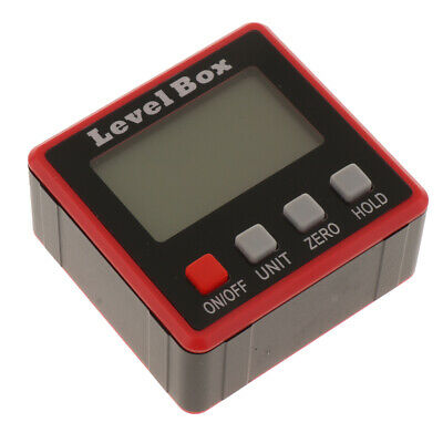 LCD Digital Protractor Angle Finder Level Inclinometer Spirit Level
