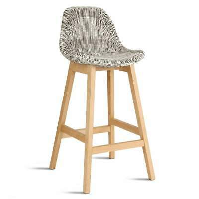 Artiss Set of 2 Vera Bar Stool - White