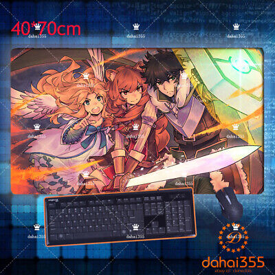 Mouse GAME Mat Mousepad Anime The Rising of The Shield Hero Pad Play 40*70cm #F2