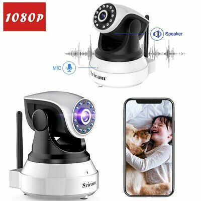 Sricam 1080P IP Camera Wireless WiFi Security Network CCTV Night Vision Syst BL