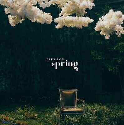 2NE1 PARK BOM [SPRING] Album CD+POSTER+Photo Book+Card SEALED Feat. SANDARA PARK