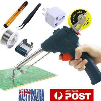 60W Tin Electric Soldering Station Iron Gun Solder Welding Tool Kits Automatic