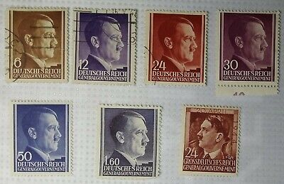 Germany, General Government 4 MNH 1940 – 44