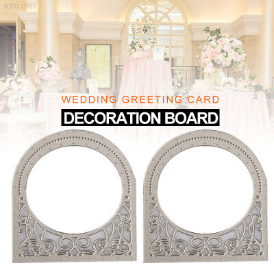 9EDA Embossing Stencil Wedding Scrapbooking Stencil Album Decal