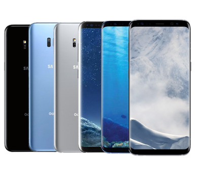 Samsung Galaxy S8+ G955U 64GB GSM Unlocked T-Mobile AT&T 6.2''16MP Android Phone