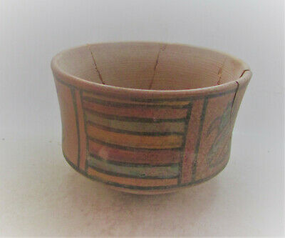 Finest Circa 2200-2000Bc Ancient Indus Valley Harappan Terracotta Pyxis Vessel