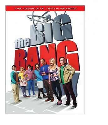 Big Bang Theory: The Complete Tenth Season (DVD, 2017, Subtitled)