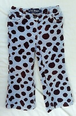 Girls' Clothing (newborn-5t) Baby & Toddler Clothing Nwt Mini Boden White Cropped Pants 3 Lr
