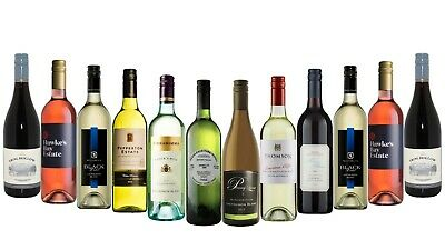 Mixed Red & White Wine Best Deal 5-Star Winery RRP$229 12x750mL - FREE SHIPPING