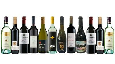 Special Offer RRP$243 Mixed Red & White Wine Pack 12x750mL FAST & FREE SHIPPING