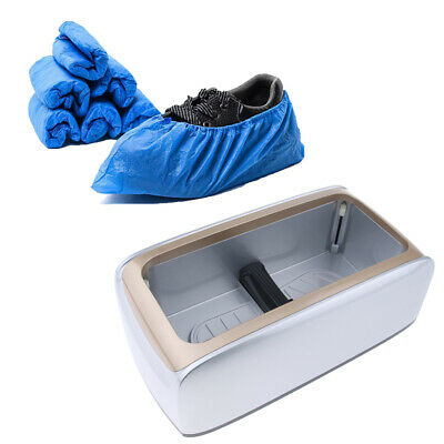 Automatic Shoe Cover Dispenser Machine with 100pcs Overshoe Home Sterile Lab