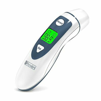Ear Thermometer with Forehead Function - FDA Approved for Baby and Adults - i...