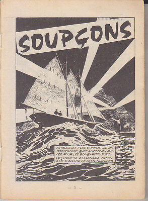 C1 Hugo PRATT - NAVY 1966 Soupcons EDITION ORIGINALE